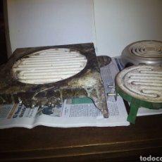 Antigüedades: 3 HORNILLOS ELÉCTRICOS. Lote 101225004