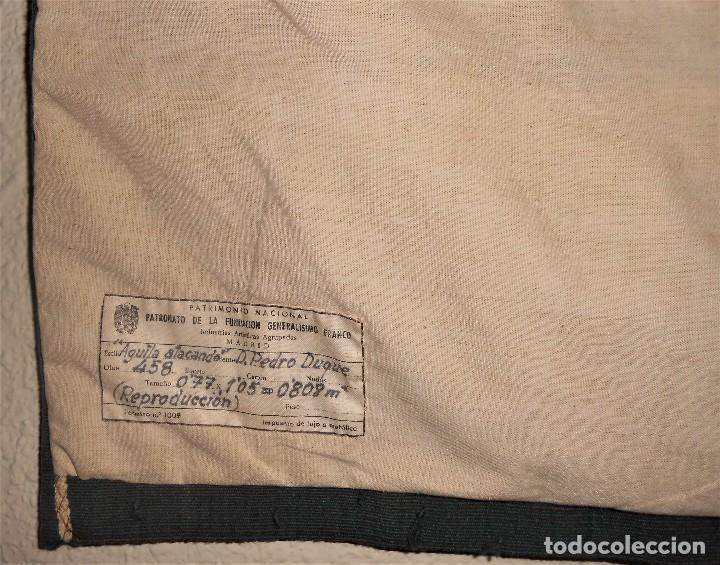 Antigüedades: TAPIZ REAL FABRICA TAPICES PATRIMONIO NACIONAL PATRONATO FUNDACIÓN GENERALÍSIMO FRANCO. - Foto 9 - 101273331