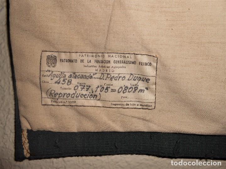 Antigüedades: TAPIZ REAL FABRICA TAPICES PATRIMONIO NACIONAL PATRONATO FUNDACIÓN GENERALÍSIMO FRANCO. - Foto 10 - 101273331