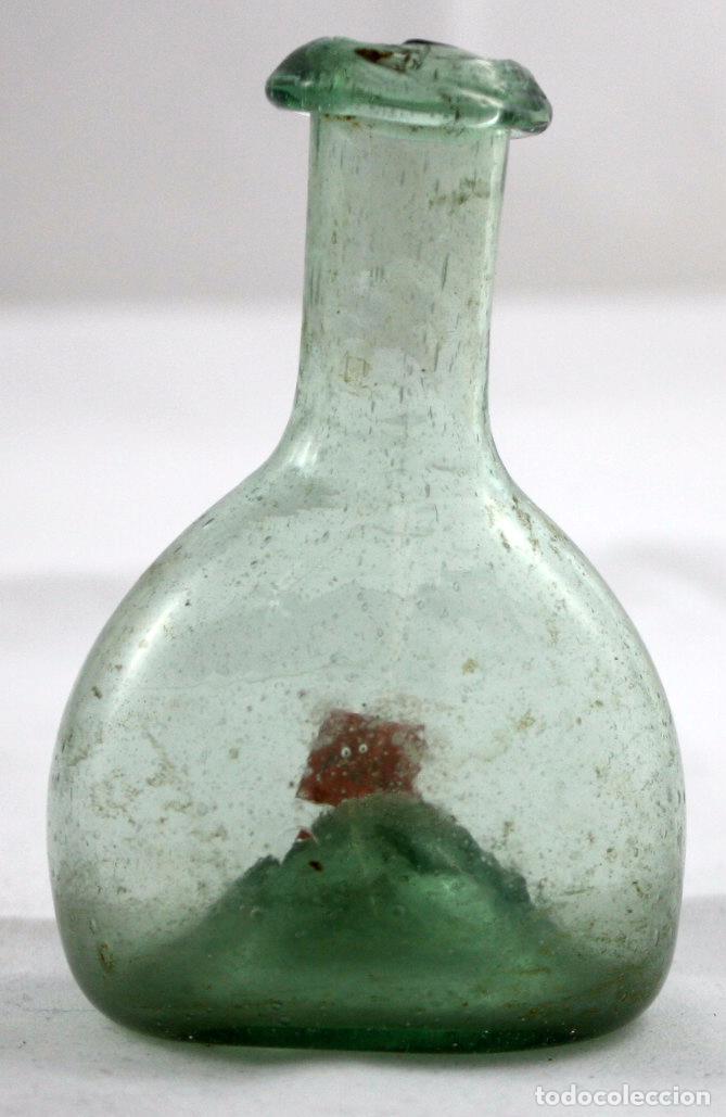 ANTIGUA FIGUETA EN CRISTAL SOPLADO DEL SIGLO XIX (Antigüedades - Cristal y Vidrio - Catalán)