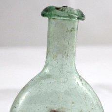 Antigüedades: ANTIGUA FIGUETA EN CRISTAL SOPLADO DEL SIGLO XIX. Lote 101278963