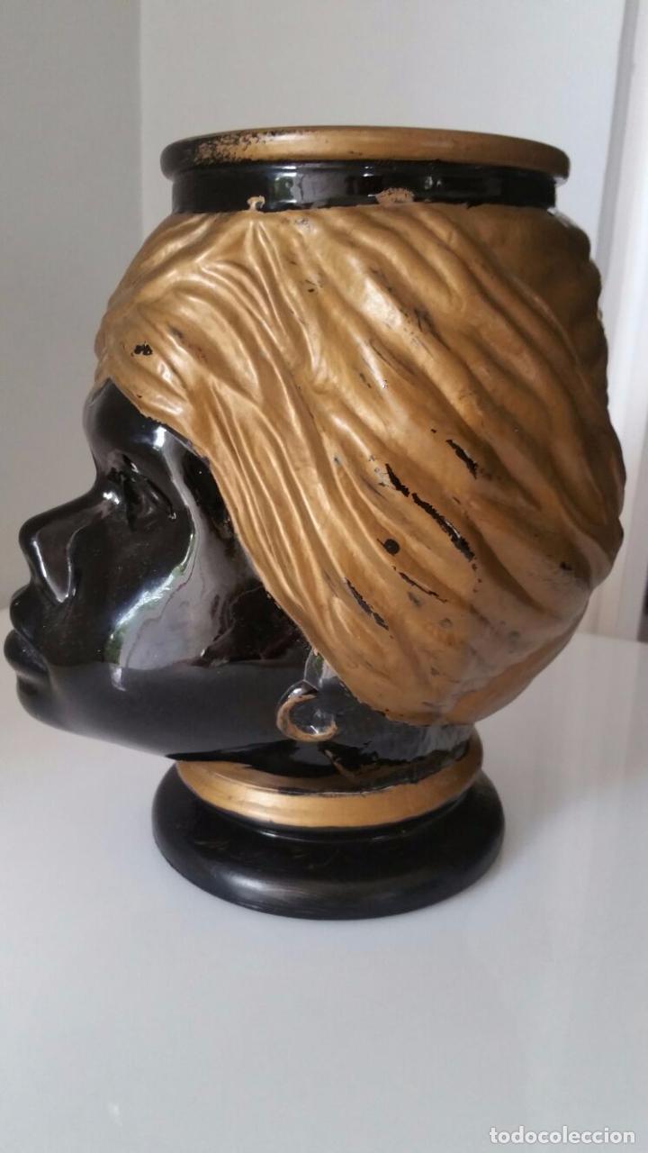 Antigüedades: Jarrón cabeza Testa di Moro Fornasetti - Foto 10 - 101280583