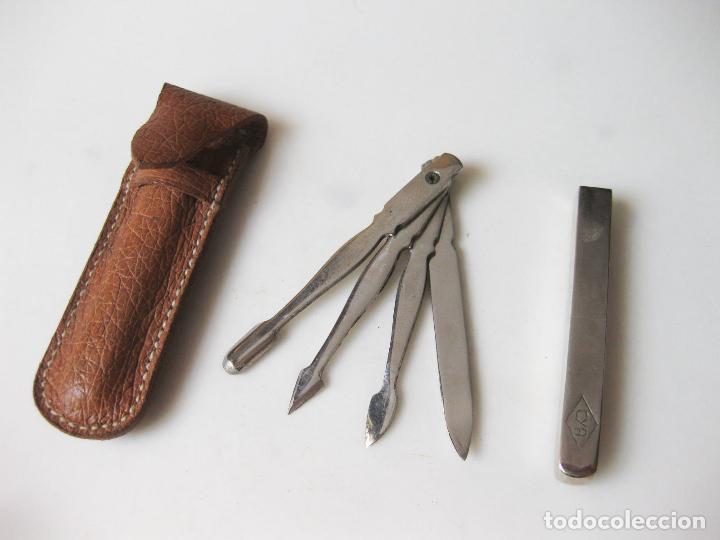 estuche con los utensilios para la limpieza y c - Comprar Moda ...