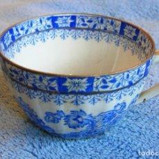 Antigüedades: TAZA DE CAFE - PORCELANA SANTA CLARA ( VIGO ) DE 8,5 CMS DE DIAMETRO.. Lote 101283655