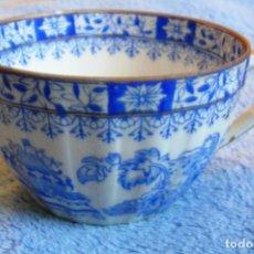 Antigüedades: TAZA DE CAFE - PORCELANA SANTA CLARA ( VIGO ) DE 8,5 CMS DE DIAMETRO.. Lote 101283887