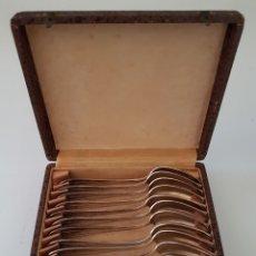 Antiquitäten - 12 cucharas postre Francia - 101292976