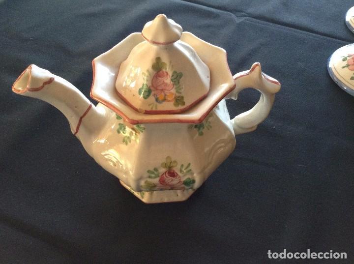 TETERA DE FAITANAR (Antigüedades - Porcelanas y Cerámicas - Alcora)