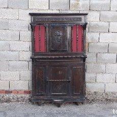 Antigüedades: ANTIGUO MUEBLE DE ENTRADA PERCHERO PARAGÜERO. RECIBIDOR SOMBRERERO ANTIGUO RETRO VINTAGE. Lote 101333799