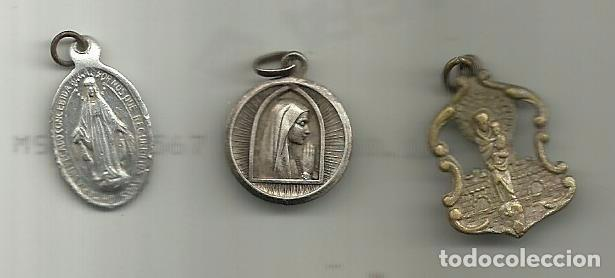 *ANTIGUAS MEDALLAS RELIGIOSAS* (Antigüedades - Religiosas - Medallas Antiguas)