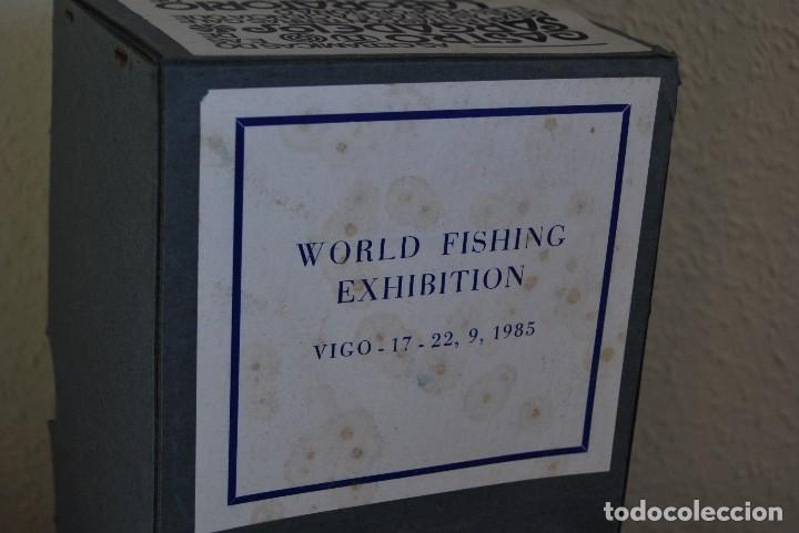 Antigüedades: BARCA DE PESCA DE SARGADELOS - WORLD FISHING EXHIBITION 1985 - BARCO PESQUERO - EDICIÓN LIMITADA - Foto 12 - 101354403