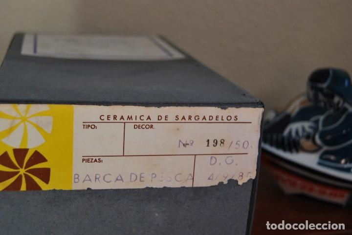 Antigüedades: BARCA DE PESCA DE SARGADELOS - WORLD FISHING EXHIBITION 1985 - BARCO PESQUERO - EDICIÓN LIMITADA - Foto 14 - 101354403