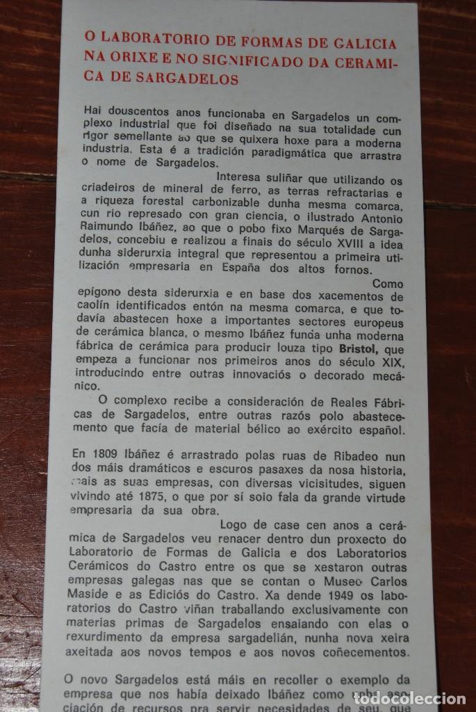 Antigüedades: BARCA DE PESCA DE SARGADELOS - WORLD FISHING EXHIBITION 1985 - BARCO PESQUERO - EDICIÓN LIMITADA - Foto 16 - 101354403