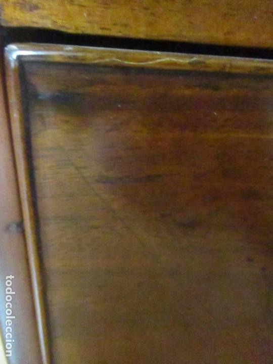 Antigüedades: Antiguo Buro - Canterano - Escritorio - Estilo Victoriano - Madera de Caoba - Finales S. XIX - Foto 9 - 101361691