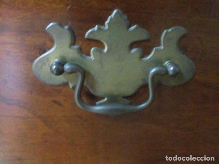 Antigüedades: Antiguo Buro - Canterano - Escritorio - Estilo Victoriano - Madera de Caoba - Finales S. XIX - Foto 10 - 101361691