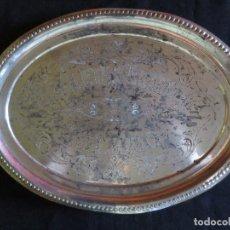 Antigüedades: BANDEJA ANTIGUA CON PUBLICIDAD GALLETAS ARTIACH BILBAO. Lote 101378707