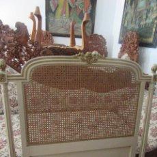 Antigüedades: CABECERO CON REJILLA. Lote 120294568