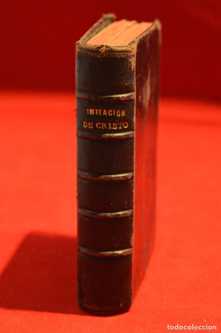 Antigüedades: IMITACION DE CRISTO KEMPIS MINIATURA 1866 JUAN EUSEBIO NIEREMBERG - Foto 2 - 101393435