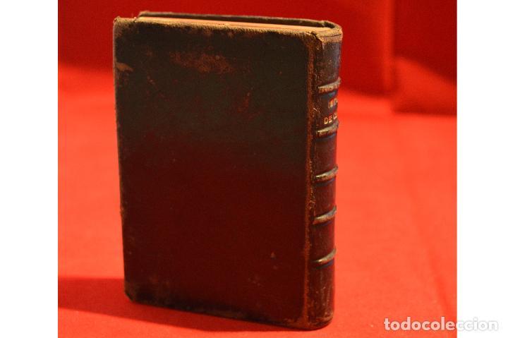 Antigüedades: IMITACION DE CRISTO KEMPIS MINIATURA 1866 JUAN EUSEBIO NIEREMBERG - Foto 3 - 101393435