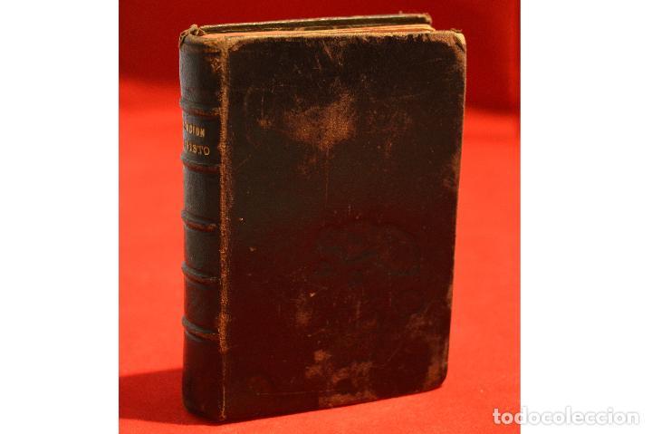 Antigüedades: IMITACION DE CRISTO KEMPIS MINIATURA 1866 JUAN EUSEBIO NIEREMBERG - Foto 4 - 101393435