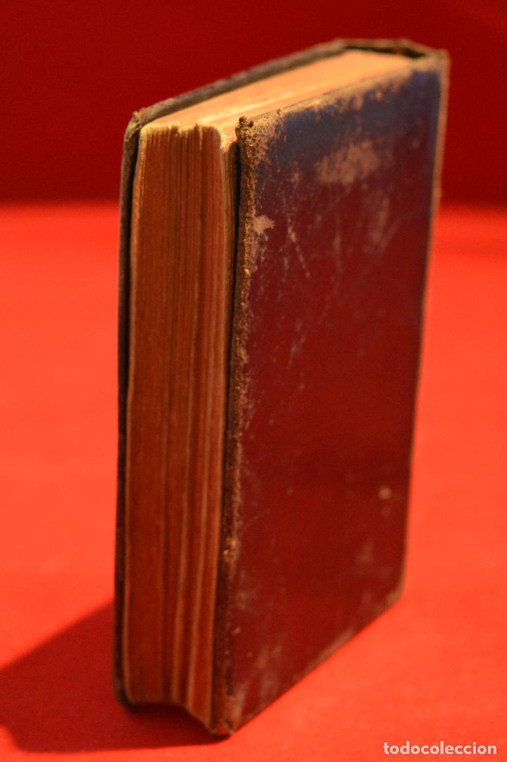 Antigüedades: IMITACION DE CRISTO KEMPIS MINIATURA 1866 JUAN EUSEBIO NIEREMBERG - Foto 5 - 101393435