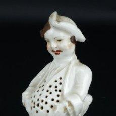 Antiguidades: PALILLERO EN PORCELANA SIGLO XIX. Lote 101394003