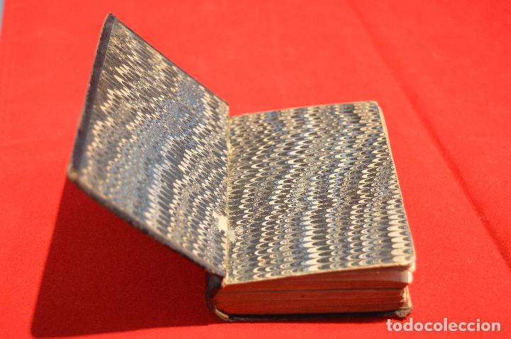 Antigüedades: IMITACION DE CRISTO KEMPIS MINIATURA 1866 JUAN EUSEBIO NIEREMBERG - Foto 7 - 101393435