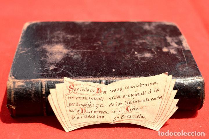 Antigüedades: IMITACION DE CRISTO KEMPIS MINIATURA 1866 JUAN EUSEBIO NIEREMBERG - Foto 11 - 101393435