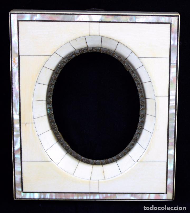 marco para miniatura del siglo xix en madera fo - Comprar Marcos ...