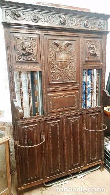Perchero castellano para restaurar comprar muebles for Antiguedades para restaurar