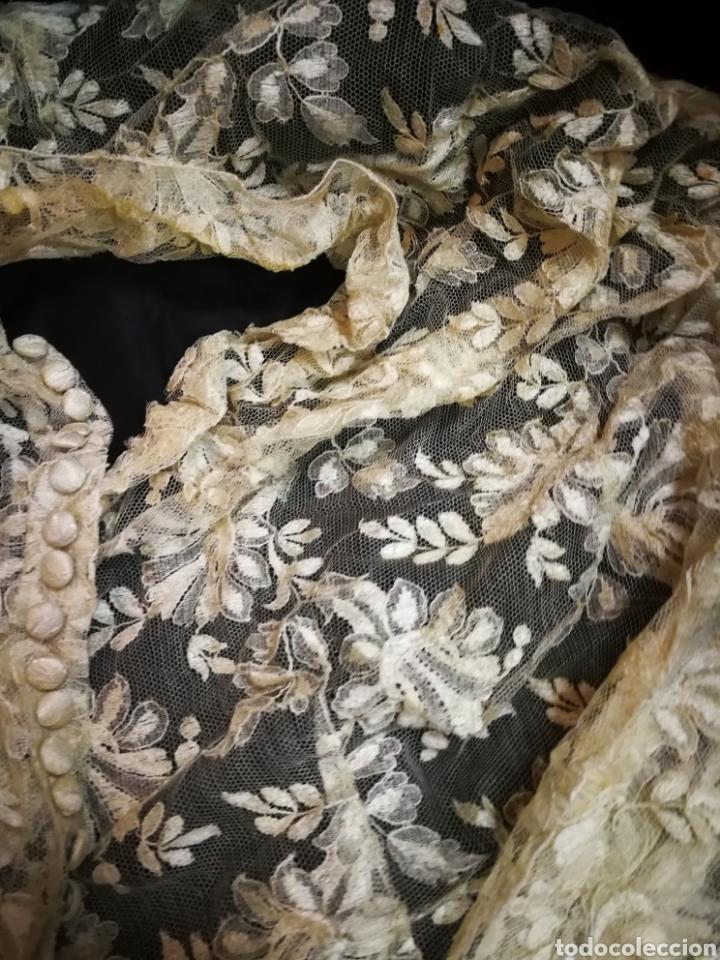 Antigüedades: Corpiño antiguo de encaje. Para restaurar - Foto 2 - 101440739