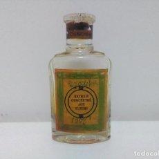 Antigüedades: ANTIGUO FRASCO DE EXTRACTO CONCENTRADO DE FLORES - CHINCHINA - MADE IN FRANCE. OCTUBRE DE 1956. Lote 101449471