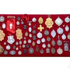 Antigüedades: MEDALLAS RELIGIOSAS ANTIGUAS. Lote 101450387