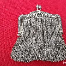 Antigüedades: MONEDERO DE PLATA. Lote 101468027