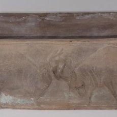 Antigüedades: MACETERO EN CERÁMICA NEGRA. ESPAÑA. SIGLO XX.. Lote 101469139