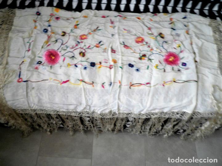 Antigüedades: Mantón - Foto 3 - 101481535