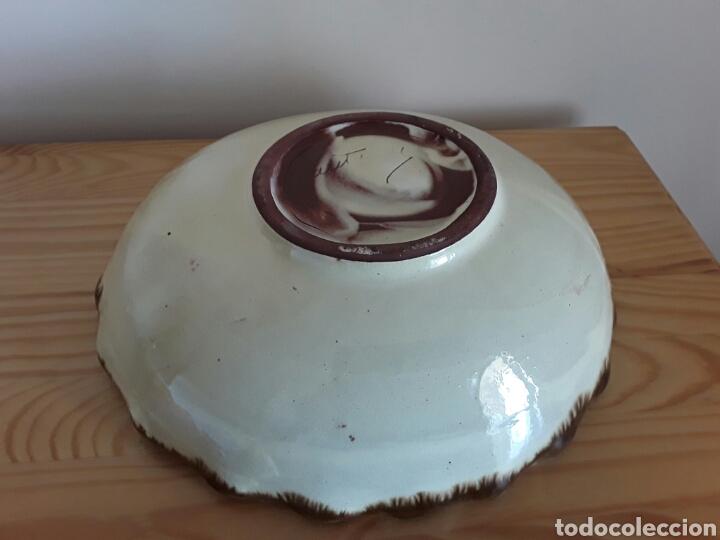 Antigüedades: Gran plato cerámica la Bisbal - Foto 5 - 101483432