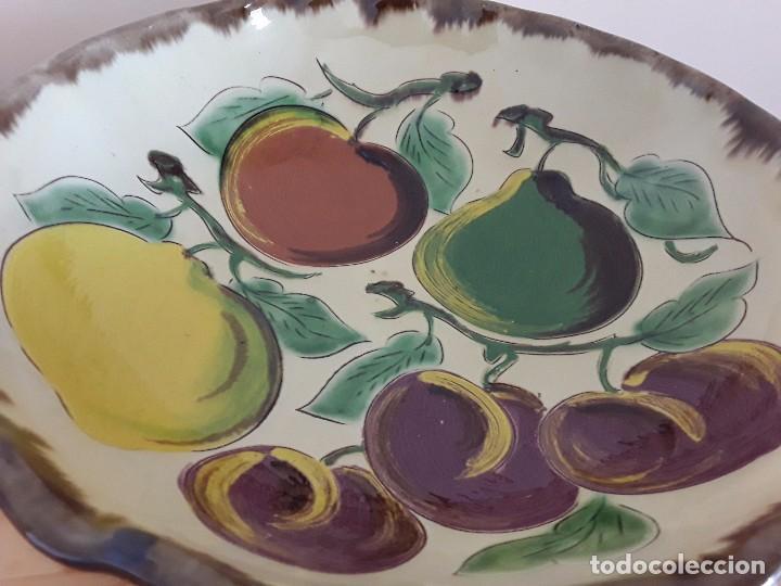 Antigüedades: Gran plato cerámica la Bisbal - Foto 2 - 101483979