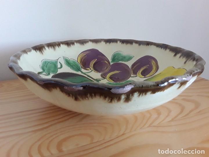 Antigüedades: Gran plato cerámica la Bisbal - Foto 4 - 101483979