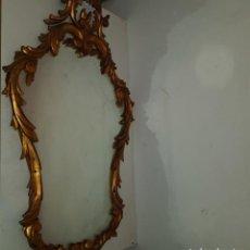 Antigüedades: ESPEJO CORNUCOPIA DORADO. Lote 101500347