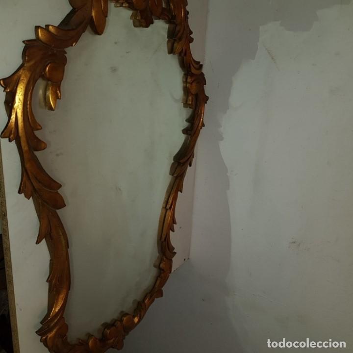 Antigüedades: ESPEJO CORNUCOPIA DORADO - Foto 3 - 101500347