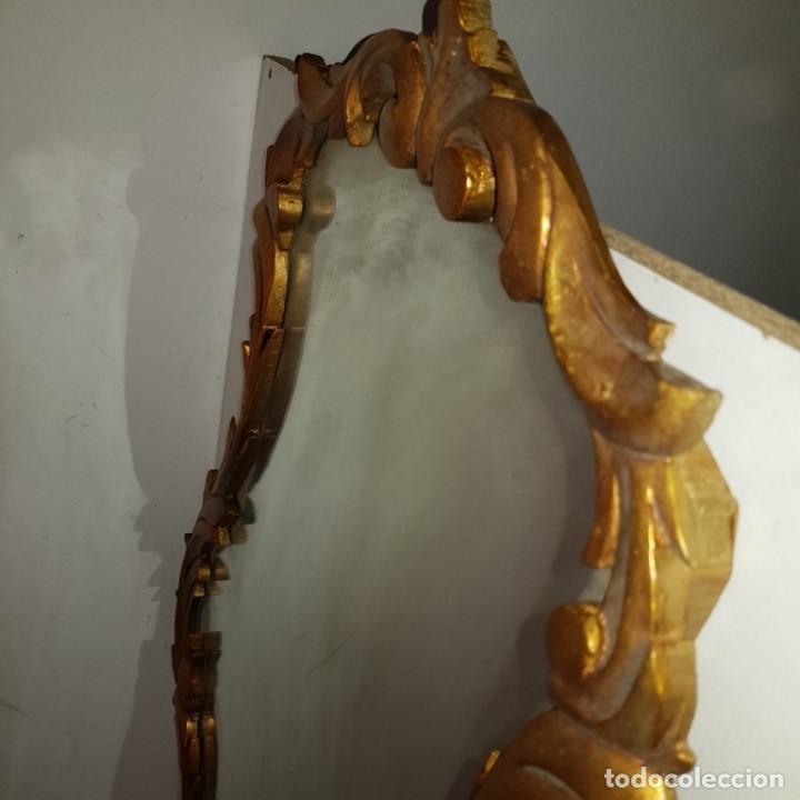 Antigüedades: ESPEJO CORNUCOPIA DORADO - Foto 6 - 101500347