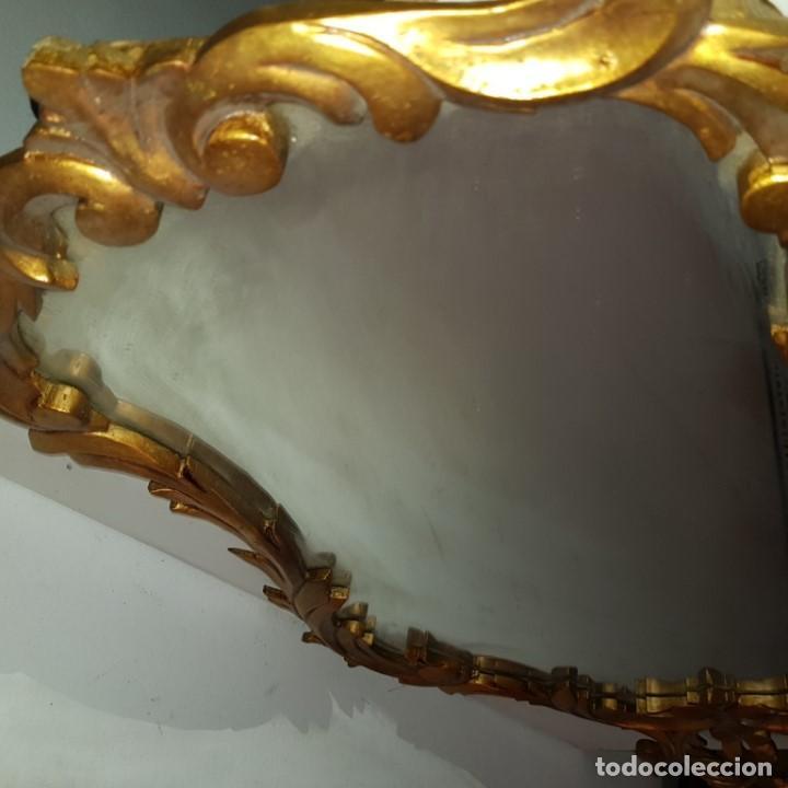 Antigüedades: ESPEJO CORNUCOPIA DORADO - Foto 7 - 101500347