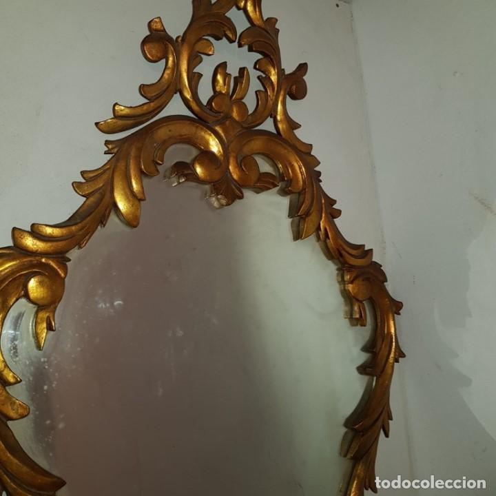 Antigüedades: ESPEJO CORNUCOPIA DORADO - Foto 8 - 101500347