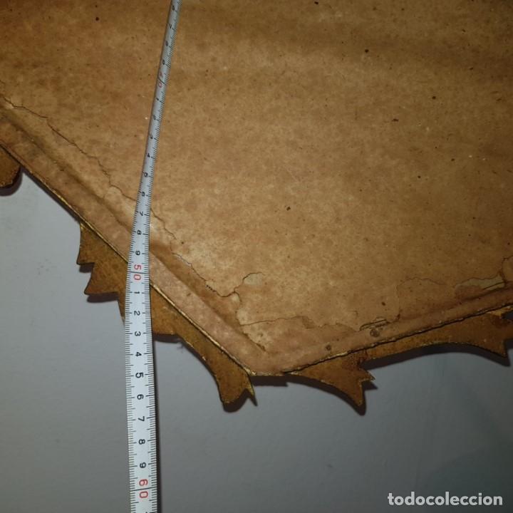 Antigüedades: ESPEJO CORNUCOPIA DORADO - Foto 12 - 101500347