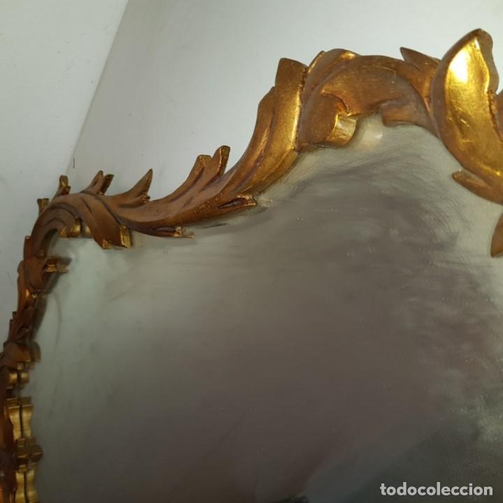 Antigüedades: ESPEJO CORNUCOPIA DORADO - Foto 15 - 101500347