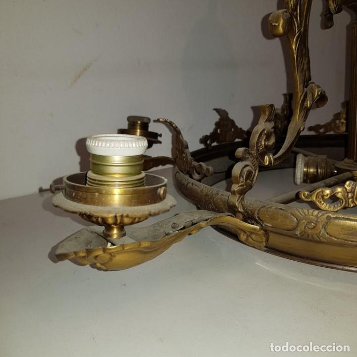 Antigüedades: LAMPARA TECHO - Foto 5 - 101500411