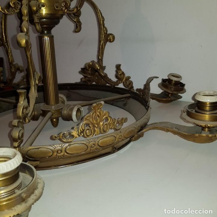 Antigüedades: LAMPARA TECHO - Foto 6 - 101500411