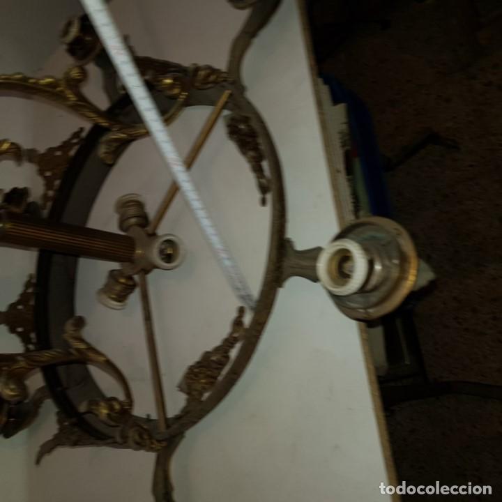 Antigüedades: LAMPARA TECHO - Foto 13 - 101500411
