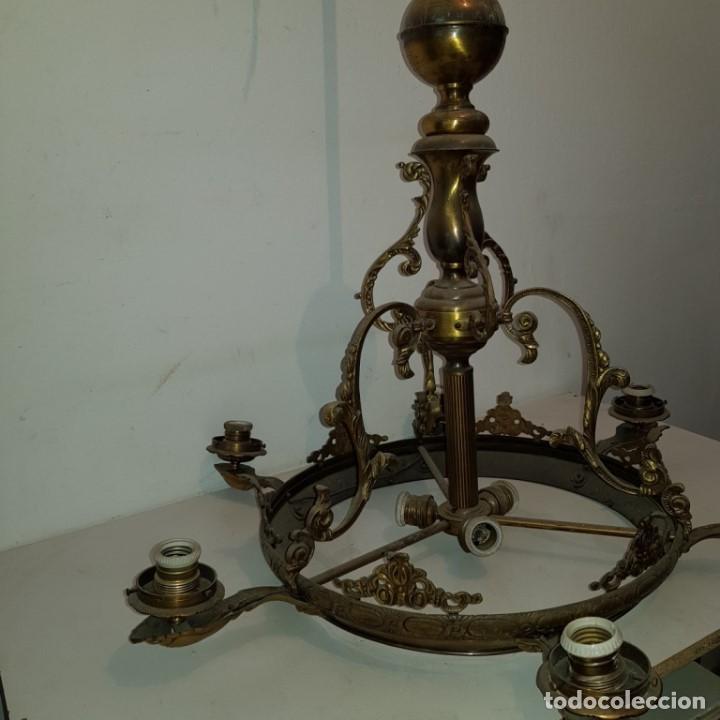Antigüedades: LAMPARA TECHO - Foto 14 - 101500411