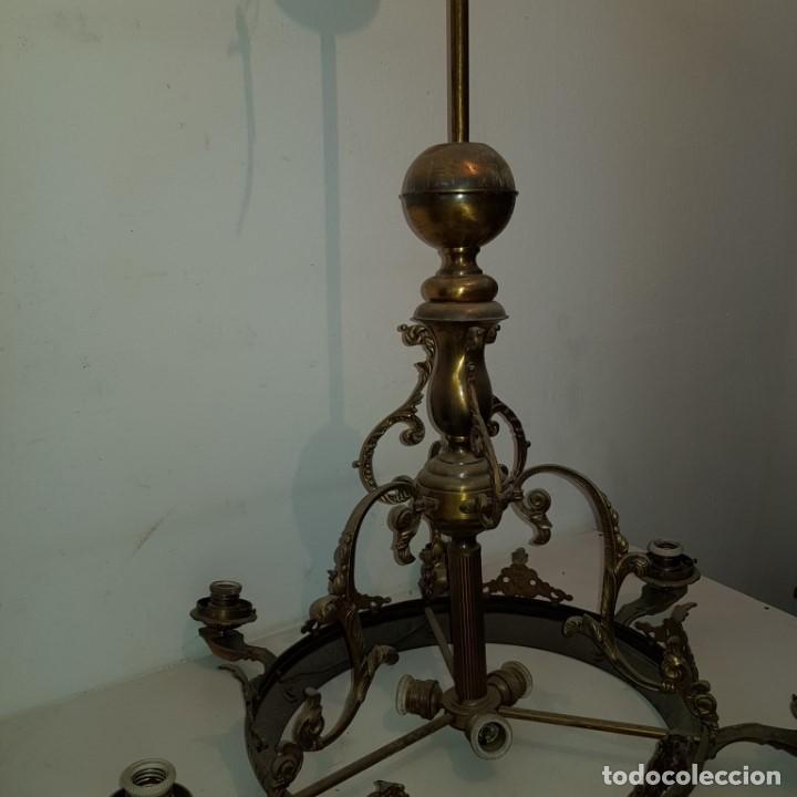 Antigüedades: LAMPARA TECHO - Foto 15 - 101500411